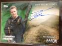 2017 Topps Walking Dead Evolution Autographs Green #A-RM Ross Marquand Auto S25 Aaron