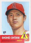 2018 Topps Living Set #7 Shohei Ohtani RC Rookie Los Angeles Angels