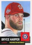2018 Topps Living Set #13 Bryce Harper Washington Nationals Baseball Card
