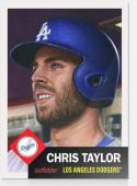 2018 Topps MLB The Living Set #17 Chris Taylor Los Angeles Dodgers Baseball Card