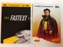 2018 Topps Denny's Solo Star Wars Lando Calrissian Donny Glover Collectible Trading Card RARE from Han Solo Movie