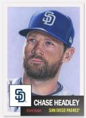 2018 Topps The Living Set #24 Chase Headley San Deigo Padres Baseball Card