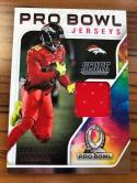 2018 Score Pro Bowl Jerseys #19 Demaryius Thomas Denver Broncos Football Jersey MEM Card