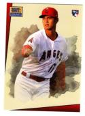 2018 Topps Throwback Thursday 1993 Star Wars Galaxy Design #79 Shohei Ohtani RC Rookie Los Angeles Angels