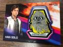 2018 Topps Solo A Star Wars Story Trading Card Manufactured Patch Relics #MP-HSC Han Solo Chewbacca