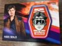 2018 Topps Solo A Star Wars Story Trading Card Manufactured Patch Relics #MP-HSH Han Solo Han Solo