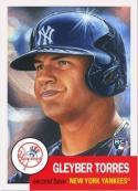 2018 Topps Living Set #34 Gleyber Torres RC Rookie New York Yankees MLB Baseball Trading Card