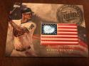 2018 Topps MLB Independence Day U.S. Flag Manufactured Patches #IDML-BB Byron Buxton Minnesota Twins USA Retail Blaster