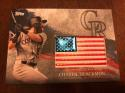 2018 Topps MLB Independence Day U.S. Flag Manufactured Patches #IDML-CL Charlie Blackmon Colorado Rockies USA Retail Bla