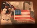 2018 Topps MLB Independence Day U.S. Flag Manufactured Patches #IDML-JRA Jose Ramirez Cleveland Indians USA Retail Blast