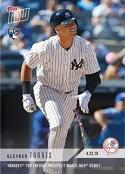 2018 Topps Now #112 Gleyber Torres Rookie Card 1st Official Rookie Card Only 6,552 made! RC New York Yankees MLB Basebal