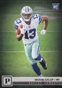 2018 Panini NFL Football #327 Michael Gallup Dallas Cowboys RC Rookie Card