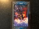 2018 Topps Star Wars Galactic Files Manufactured Movie Poster Patches Blue MA-LSH Luke Skywalker SER/99 The Empire Strik