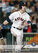2018 Topps Now Baseball #424 Kyle Tucker Houston Astros Call-Up Card Top Prospect Collects 1st Hit RBI debut Sold Out at