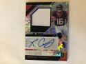 2018 Unparalleled Football Rookie Jersey Autographs Impact #31 Keke Coutee Jersey SERS75 Houston Texans Official NFL Tra