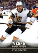 2017-18 Upper Deck Vegas Golden Knights Inaugural Season Hockey #22 Ryan Reaves Official NHL Trading Card RARE