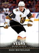 2017-18 Upper Deck Vegas Golden Knights Inaugural Season Hockey #31 Zach Whitecloud RC Rookie Official NHL Trading Card RARE