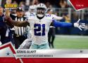 2018 Panini Instant NFL Football #42 Ezekiel Elliott Dallas Cowboys  Big Catch Sets Up Game Winning FG  Print Run Only 79