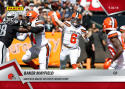 2018 Panini Instant NFL Football #51 Baker Mayfield RC Rookie Cleveland Browns  Makes His First Career Start  Print Run Only 261