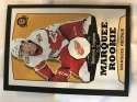 2018-19 O-Pee-Chee Retro Black Border SER100 #546 Dominic Turgeon Detroit Red Wings RC Rookie 18-19 Official OPC Hockey Card (made by Upper Deck)