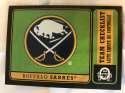 2018-19 O-Pee-Chee Retro Black Border SER100 #568 Buffalo Sabres Logo / Team Checklist 18-19 Official OPC Hockey Card (made by Upper Deck)