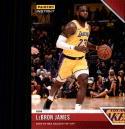 2018-19 Panini Instant NBA Basketball #4 LeBron James Los Angeles Lakers  Online Exclusive Print Run 330