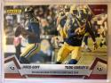 2018 Panini Instant NFL Football #81 Jared Goff/Todd Gurley Los Angeles Rams  Duo Rallies to First 8-0 Start since 1969 Print Run 67