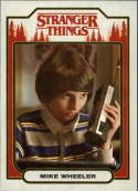 2018 Topps Stranger Things Season 1 Character Cards ST-3 Mike Wheeler  Official Netflix Series Collector's Card