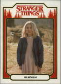 2018 Topps Stranger Things Season 1 Character Cards ST-4 Eleven  Official Netflix Series Collector's Card
