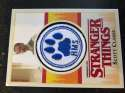 2018 Topps Stranger Things Season 1 Commemorative Patch NonSport #P-SC Scott Clarke Hawkins Middle School  Official Netflix Series Trading Card