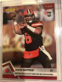 2018 Panini Instant NFL Football #84 Baker Mayfield RC Rookie Cleveland Browns Print Run Only 106 Made SOLD OUT at Panini
