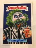2018 Topps Garbage Pail Kids Oh The Horror-ible Artist Auto Horror Beetlejuice Brent Engstrom Autograph SER25 Collectible Trading Card Sticker