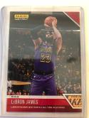 2018-19 Panini Instant NBA Basketball #36 LeBron James Los Angeles Lakers Print Run 210