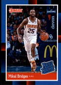 2018 Panini Instant NBA 1988 Rated Rookie Retro Basketball #RR10 Mikal Bridges RC Rookie Phoenix Suns  Online Exclusive Trading Card SOLD OUT at Panin