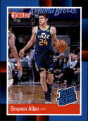 2018 Panini Instant NBA 1988 Rated Rookie Retro Basketball #RR19 Grayson Allen RC Rookie Utah Jazz  Online Exclusive Trading Card SOLD OUT at Panini L
