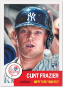 2018 Topps The Living Set Baseball #110 Clint Frazier New York Yankees  RC Rookie Card Online Exclusive SOLD OUT at Topps