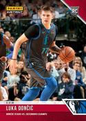2018-19 Panini Instant NBA Basketball #41 Luka Doncic RC Rookie Dallas Mavericks  Stars vs Defending Champs Print Run 137 SOLD OUT at Panini