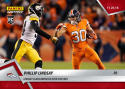 2018 Panini Instant NFL Football #118 Phillip Lindsay RC Rookie Leads Denver Broncos over Steelers Print Run 99 SOLD OUT at Panini