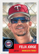 2018 Topps The MLB Living Set Baseball #116 Felix Jorge RC Rookie Minnesota Twins  Online Exclusive MLB Trading Card SOLD OUT at Topps