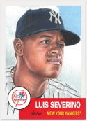2018 Topps The MLB Living Set Baseball #115 Luis Severino New York Yankees  Online Exclusive MLB Trading Card SOLD OUT at Topps