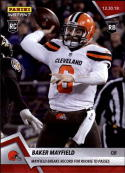 2018 Panini Instant NFL #239 Baker Mayfield RC Rookie Cleveland Browns PR236