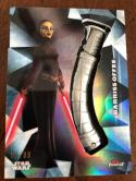 2018 Topps Finest Star Wars Lightsaber Hilt Medallion #LM-BO Barriss Offee Star Wars: The Clone Wars