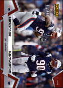 2018 Panini Instant NFL Football #423 Lawrence Guy/Malcolm Brown New England Patriots  AFC Champions Print Run 205