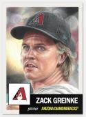 2019 Topps The Living Set Baseball #139 Zach Greinke Arizona Diamondbacks  Official MLB ONLINE EXCLUSIVE SOLD OUT at Topps