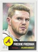 2019 Topps The Living Set Baseball #142 Freddie Freeman Atlanta Braves  Official MLB ONLINE EXCLUSIVE SOLD OUT at Topps