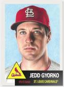 2019 Topps The Living Set Baseball #144 Jedd Gyorko St. Louis Cardinals  Official MLB ONLINE EXCLUSIVE SOLD OUT at Topps