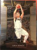 2018-19 Select Basketball #25 Luka Doncic Dallas Mavericks Concourse  Official NBA Trading Card (made by Panini)