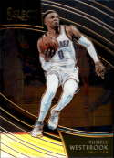 2018-19 Select Basketball #285 Russell Westbrook Oklahoma City Thunder Courtside Official NBA Trading Card (made by Panini)