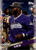 2019 Topps Alliance of American Football #7 Michael Vick Atlanta Legends  Official AAF Trading Card