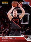 2018-19 Panini Instant NBA Playoffs #57 Meyers Leonard Portland Trailblazers  Print Run 65 Official Basketball Card ONLINE Exclusive